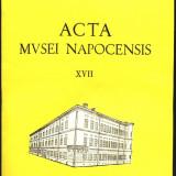 Carte uriasa ACTA MVSEI NAPOCENSIS nr XVII 1980, 918 pagini - Istorie