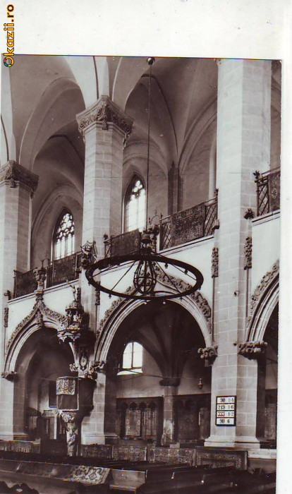 S-4611 BRASOV Biserica Neagra, Amvon si galerie