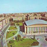S-4838 BUCURESTI Sala Palatului, CIRCULAT 1986 - Carte Postala Muntenia dupa 1918