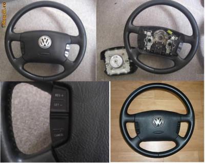 Airbag si volan VW + comenzi volan foto