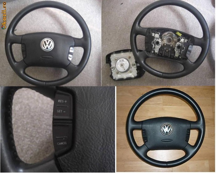 Airbag si volan VW + comenzi volan