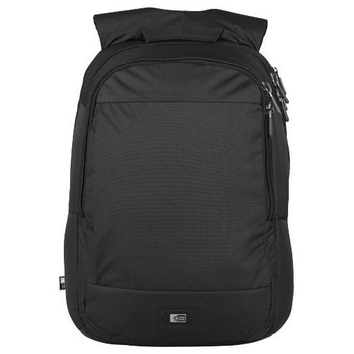 Rucsac Laptop, Case Logic by AleXer, SO, 15.6 inch, 210D nylon, negru, breloc inclus din piele ecologica si metal