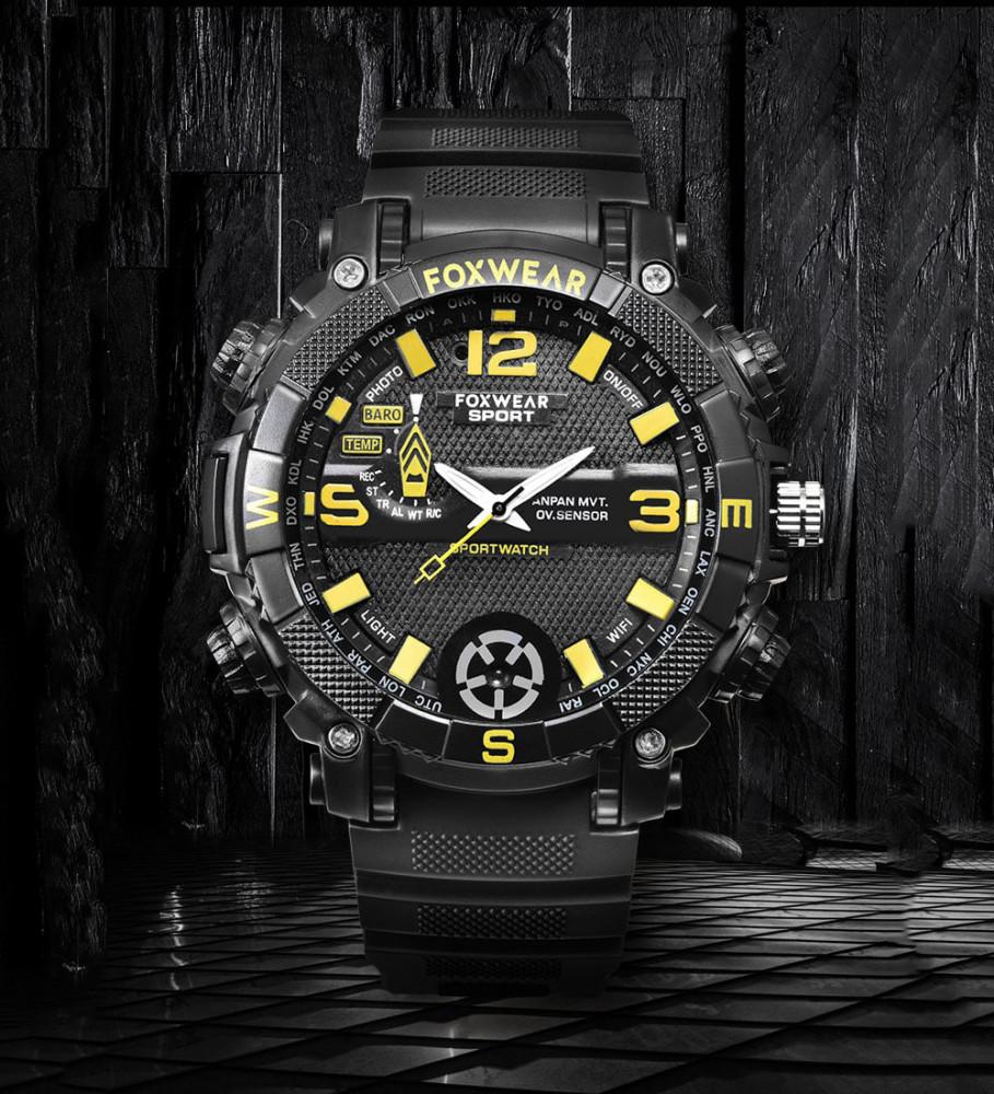 ceas de mana cu camera spion FULL HD FOX9