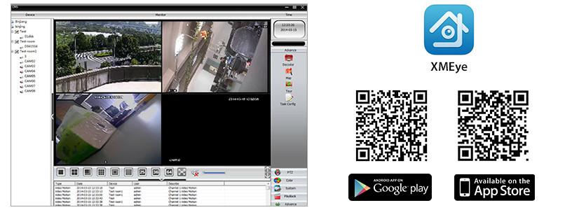 Kit supraveghere video PNI House IPMAX2