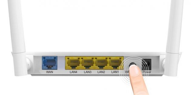 Buton WPS Router Wireless RLU1
