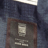 Costum HUGO BOSS original!! - Costum barbati Hugo Boss, 2 nasturi, Marime sacou: 46, Normal, Fuchsia, Marime talie: 46