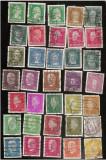 1926-1928 Germania Reich 35 v. Oameni de cultura si Presedinti Michel 47  euro, Stampilat