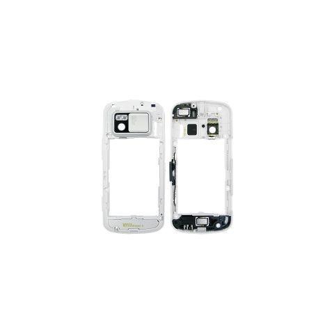 Carcasa mijloc Nokia N97 alba - - Originala - - foto mare