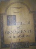 Stiluri si ornamente la mobilier-Marina Bucataru