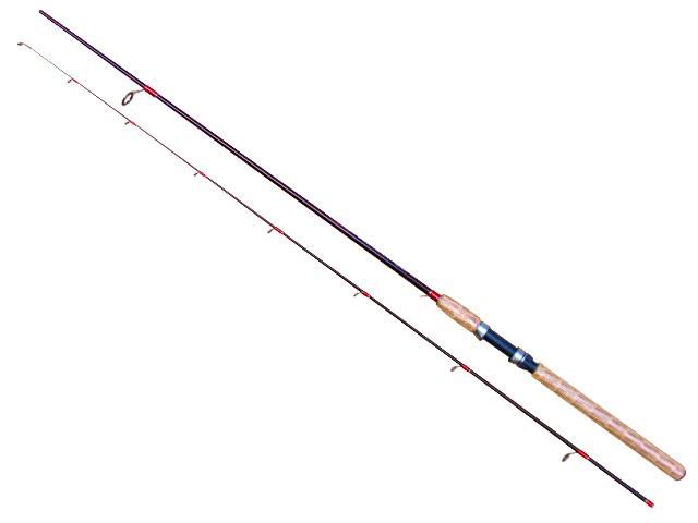 Lanseta fibra de carbon Baracuda Warlock 2,1m  Actiune: A: 3-15g.