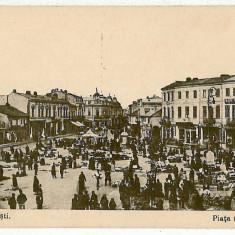 924 - Prahova, PLOIESTI, Market - old postcard - unused - Carte Postala Muntenia dupa 1918, Necirculata, Printata