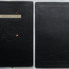 Universitatea Regele Ferdinand din Cluj, Carnet universitar de cursuri si lucrari, 1946 - Pasaport/Document