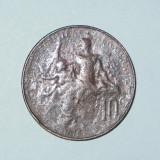 FRANTA - 10 CENTIMES 1915