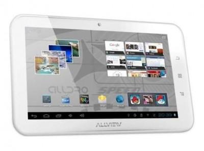 Tableta Allview Alldro Speed SuperSlim alba foto