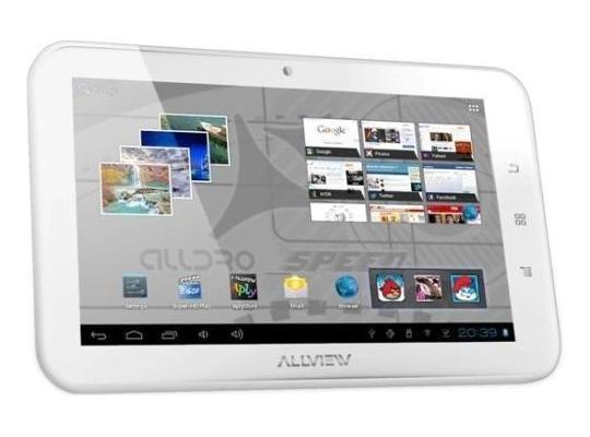 Tableta Allview Alldro Speed SuperSlim alba foto mare