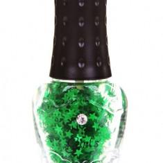 Oja NYX Girls Special Glitter Green Stars