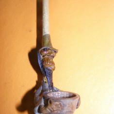 PIPA FUNCTIONALA, INEDITA, DECORATIVA, CULTURA VECHE - Arta din Africa