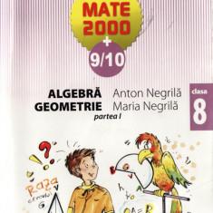 ALGEBRA GEOMETRIE CLASA A VIII A PARTEA 1 de ANTON SI MARIA NEGRILA ED. PARALELA 45 - Manual scolar paralela 45, Clasa 8