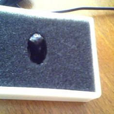 nanocasca nc1 Zgomot de fond  10 dB Dimensiuni  D4 x L5.5 mm Greutate(Incluzand bateria)  0.5 gr  baterie ag 0 ,+colier pt nokia