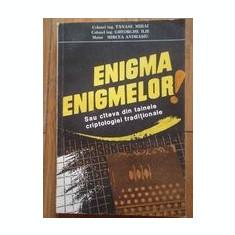 Mihai Tanase - Enigma enigmelor sau cateva din tainele criptologiei traditionale