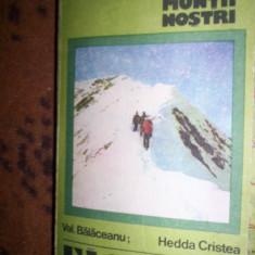 Muntii Fagaras nr.32MN colectia muntii nostri /cu harta