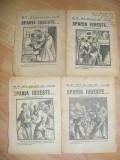 FASCICOLE,SPANIA IUBESTE ,ROMAN DE ACTUALITATE ,REVISTA ROMANELOR CELEBRE ,N16,N32,N20 ,N19