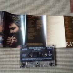 ANDREA BOCELLI SOGNO caseta audio muzica clasica opera texte foto, Casete audio