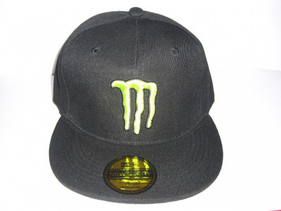 sepci MONSTER ENERGY negre rap rapper fullcap (sapca 68) foto