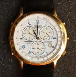 Ceas CITIZEN, quartz, cronograph, alarm,water resist. Made in Japan. Anii 70-80., Elegant, Metal necunoscut
