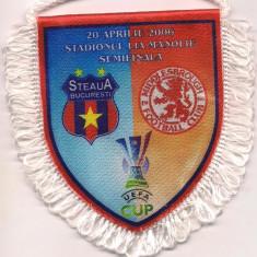 fanion-STEAUA BUCURESTI-F.C. MIDDLESBROUGH semifinala cupei UEFA 2006