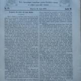 Transilvania , Foaia Asociatiunii transilvane pentru literatura romana si cultura poporului roman , Brasov , nr. 12 , 1870