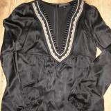 SUPER PRET! Bluza lux BARBARA BUI originala matase cu aplicatii handmade S/M