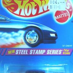 HOT WHEELS --CHEVY BEL AIR 1957 ++1799 DE LICITATII !! - Macheta auto Hot Wheels, 1:64