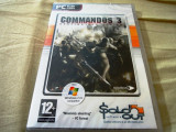 Joc Commandos 3, PC, original si sigilat, 9.99 lei(gamestore)!, Shooting, 16+, Single player