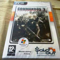 Joc Commandos 3, PC, original si sigilat, 9.99 lei(gamestore)! - Jocuri PC Altele, Shooting, 16+, Single player