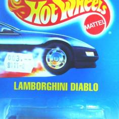 HOT WHEELS--LAMBORGHINI DIABLO ++ 1799 DE LICITATII - Macheta auto Hot Wheels, 1:64