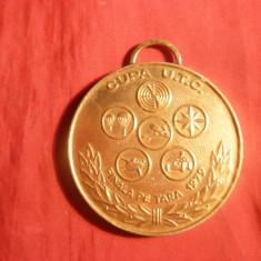 Placheta - Cupa UTC - Finala pe Tara 1979 - Locul I - Medalii Romania