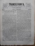 Transilvania , Foaia Asociatiunii transilvane pentru literatura romana si cultura poporului roman , Brasov , nr. 19 , 1870