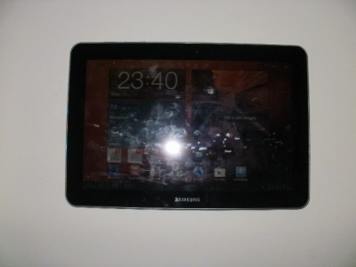 Vand tableta samsung galaxy tab P7500 10.1 black 3 G wifi de 16 GB foto