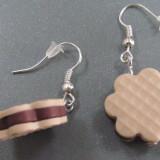 Pandantiv/martisor/Cercei biscuiti din fimo