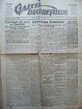Gazeta Bucurestilor , 2 martie 1918 , ziar tiparit sub ocupatia Capitalei