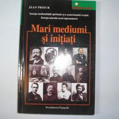 Jean Prieur - Mari mediumi si initiati, rf2/1, RF4/2 - Carte paranormal