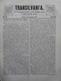 Transilvania , Foaia Asociatiunii transilvane pentru literatura romana si cultura poporului roman , Brasov , nr. 20 , 1870