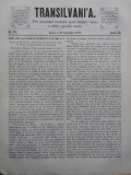 Transilvania , Foaia Asociatiunii transilvane pentru literatura romana si cultura poporului roman , Brasov , nr. 18 , 1870