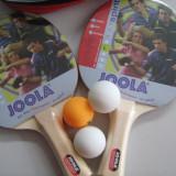 SET TENIS MASA JOOLA SPIRIT 2 PALETE, 3 MINGI - Paleta ping pong