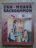 Joc sah, moara si table / backgammon - VINTAGE - PRET MINIM!