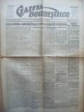 Gazeta Bucurestilor , 3 martie 1918 , ziar tiparit sub ocupatia Capitalei