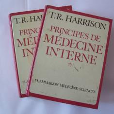 PRINCIPII DE MEDICINA INTERNA  - T.R. HARRISON . 2 VOLUME .