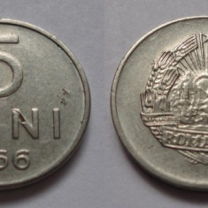5 bani 1966 - Moneda Romania