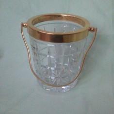 Bol din cristal pentru gheata - Bol sticla